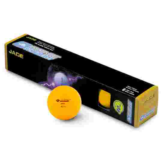 """Donic Schildkröt Tischtennisbälle """"Jade"""" 6x Orange"""