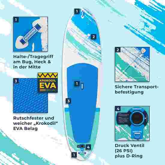 "Sportime® iSUP Board ""Seegleiter Pro"" Board einzeln 10'8 Allround Board"