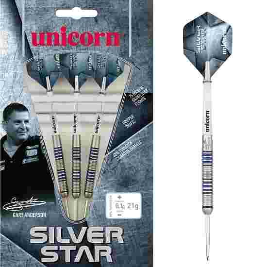 "Unicorn Steeldartpfeil ""Gary Anderson Silver Star"" 21 g"