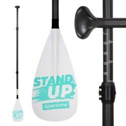 Sportime® SUP Carbon Fiberglas Paddel Gladiator