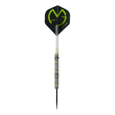 "XQMax Steeldartpfeil Michael van Gerwen ""Green Demolisher"""