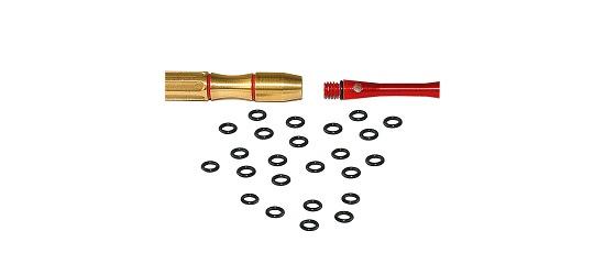 Kings Dart® Schaft-Sicherungs-Gummis 25 Stück