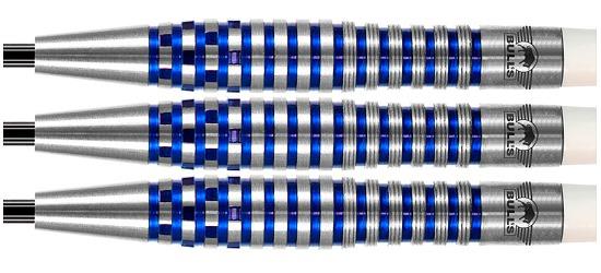 """Bull's NL Steeldartpfeil """"Martin Schindler The Wall 80% PCT Blue"""" 22 g"""