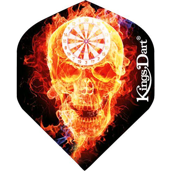"""Kings Dart Flight """"HD 100"""" Burning Skull"""