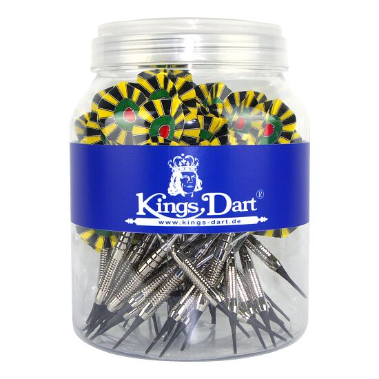 Kings Dart 50 Softdartpfeile in Dose für Spiel & Spaß