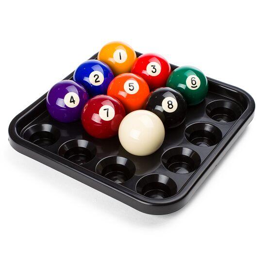 Automaten Hoffmann Ball-Tablett für Pool-Billardkugeln Schwarz
