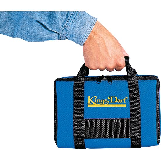 "Kings Dart® Turnier-Dartkoffer ""Comfort"" Blau"