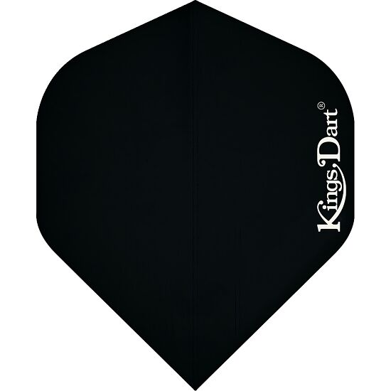 "Kings Dart® Flights ""Uni"" Schwarz, Full"