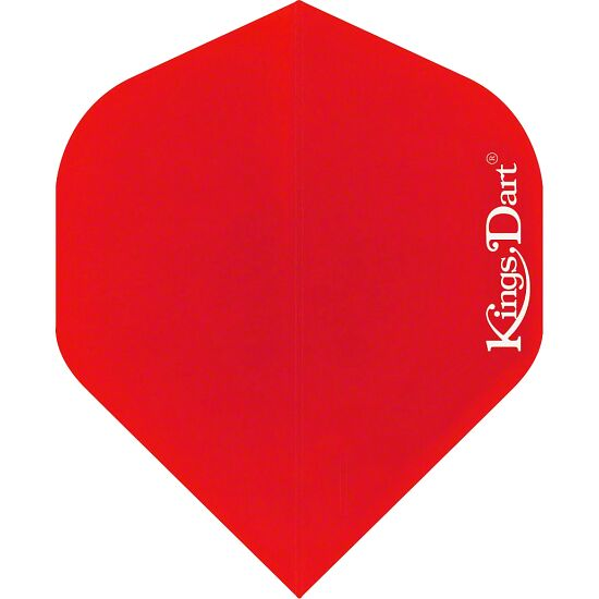 "Kings Dart® Flights ""Uni"" Weiß, Full"
