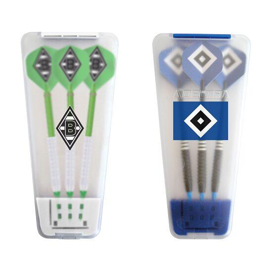 """Kings Dart® Softdart-Set """"Bundesliga"""" in Turnierbox Hamburger SV/Borussia Mönchengladbach"""
