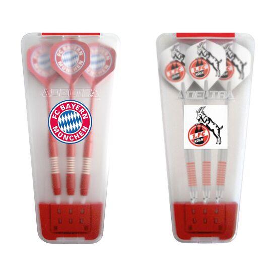 "Kings Dart® Softdart-Set ""Bundesliga"" in Turnierbox FC Bayern München/1. FC Köln"