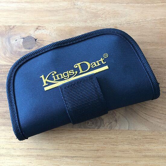 Kings Dart 6 Steeldart-Pfeile und 6 Ersatzflights plus Darttasche