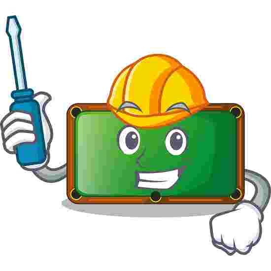 Aufbauservice für Schiefer-Billardtische