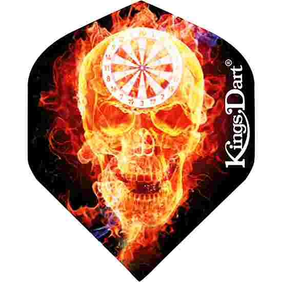"Kings Dart Flight ""HD 100"" Burning Skull"