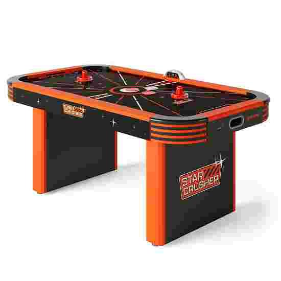 Sportime® LED-Airhockey-Tisch 5,5 ft Star Crusher Orange