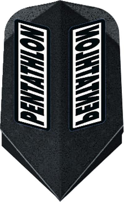 "Pentathlon Flight ""Professional"" Slim, Schwarz"