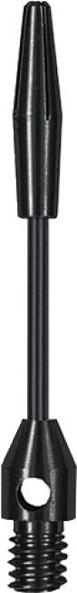 "Kings Dart Schaft ""Steel-Wire"" Short = 35 mm, Schwarz"