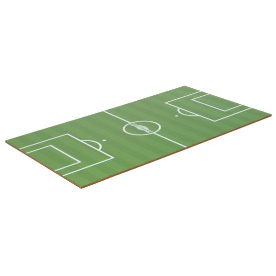 Kicker Turnierspielfeld mit Stadionrasenoptik