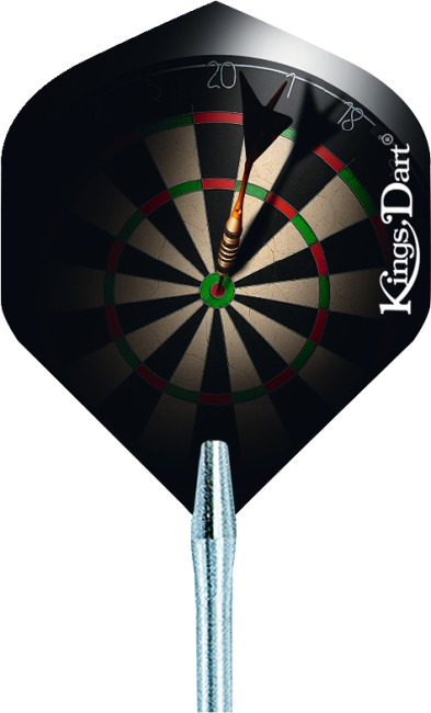 "Kings Dart® Flight ""HD 100"" Bullseye"