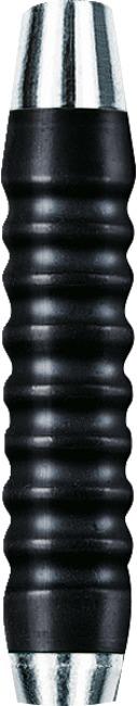 Kings Dart® Dart-Barrel Messing verchromt Schwarz