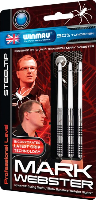"Winmau® Steeldartpfeil ""Mark Webster"" 23 g"