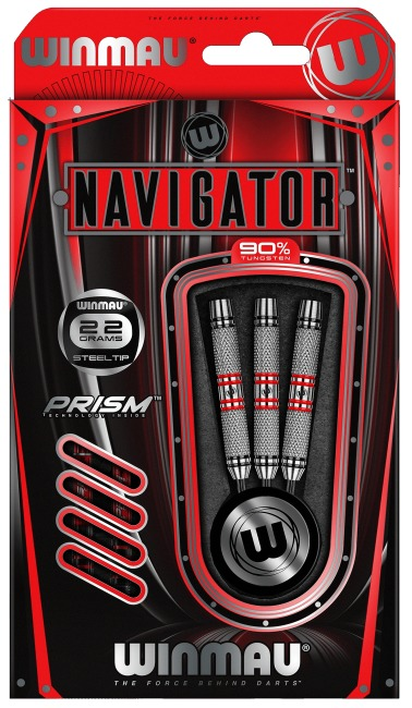 "Winmau® Steeldartpfeil ""Navigator"" 22 g"