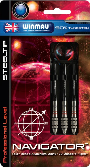 "Winmau® Steeldartpfeil ""Navigator"" 23 g"