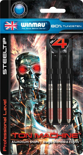 "Winmau® Steeldartpfeil ""Ton Machine"" 22 g"