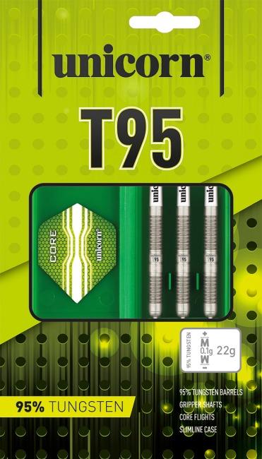 "Unicorn® Steeldartpfeil ""Core XL T95"" 22 g"