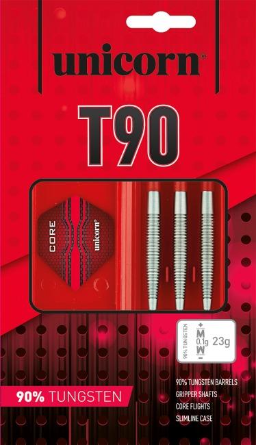 """Unicorn® Steeldartpfeil """"Core XL T90"""" 23 g, Zylindrisch"""
