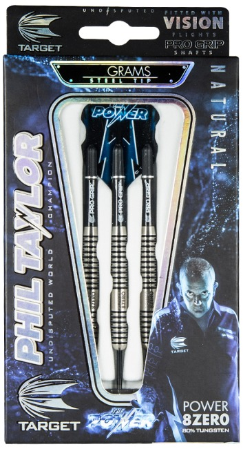"Target Steeldartpfeil Phil Taylor ""Power 8-Zero"""