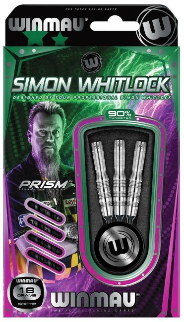 "Winmau® Softdartpfeil ""Simon Whitlock Silver Colour"" 18 g"