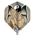 "Kings Dart® Dart Flight ""Tattoo"" Praying Hands"