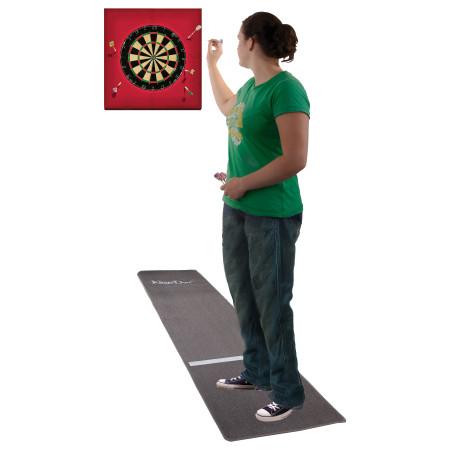 Kings Dart® Dart-Set mit Turnier-Dartteppich