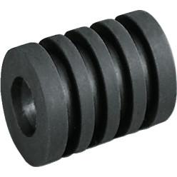 Rückstoß-Stangenpuffer für 16 mm Stangen