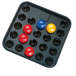 Balltablett für 22 Snookerkugeln