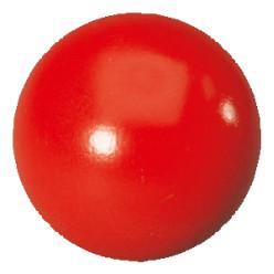 der harte glatte Kickerball rot