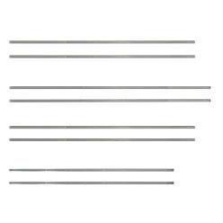 Rohr-Stahlstangen 1 Satz ( 8 Stück)