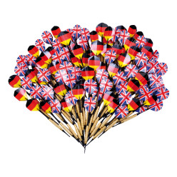 "Kings Dart® Dartpfeile-Set ""Turnier GB/DE"""