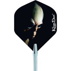 "Kings Dart® Dart Flight ""HD 150"" Dark Skull"