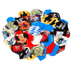 Kings Dart® 30x3 Dart-Flights HD 100