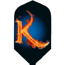 "Kings Dart® Flight ""HD 100"" Flaming K"