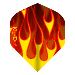 "Kings Dart® Flight ""Hot Rod"" Flame"