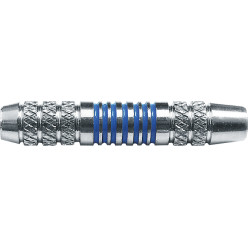 Kings Dart® Dart-Barrel Messing verchromt blau