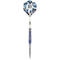 "Bull's NL Steeldartpfeil ""Martin Schindler The Wall 80% PCT Blue"""