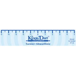 Kings Dart® Turnier-Abwurflinie