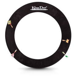 Kings Dart® Dartboard Surround, rund