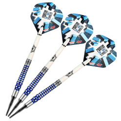 "Bull's NL Softdartpfeil ""Martin Schindler The Wall 80 % PCT Blue"""