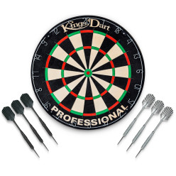 Kings Dart® Turnier-Dartboard Set