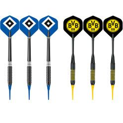 "Kings Dart® Softdart-Set ""Bundesliga"""